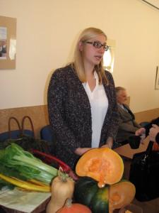 I.Stragytė teigė, kad ateityje ekologiškų daržovių augintojai išsilaikyti galės tik susikooperavę. Redakcijos archyvo nuotr.