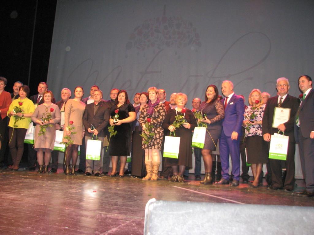Konkurso laimėtojai iš Kauno apskrities savivaldybių. A. Čapliko nuotr.