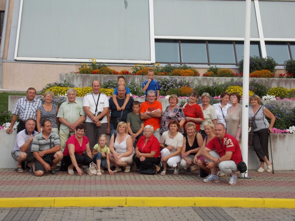 Antašaviečiai kartu keliauja po Lietuvą ir kitas šalis. Antašavos bendruomenės archyvo nuotr.