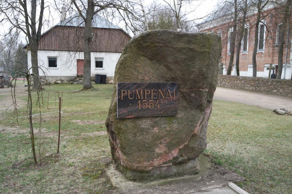 Paminklinis miestelio akmuo. V. Tavorienės nuotr.