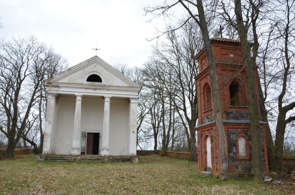 Remonto prašosi Niurkonių koplyčia – architektūros ir istorijos paminklas.   Pumpėnų miestelio bendruomenės archyvo nuotr.
