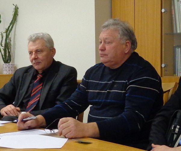 A. Boldyš (dešinėje) susitikimas su tuometiniu Seimo Aplinkos apsaugos komiteto pirmininku A. Salamakinu buvo bevaisis.