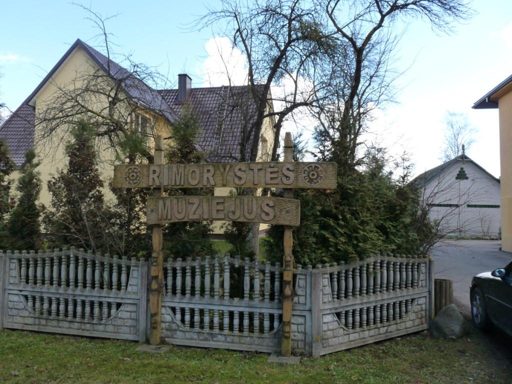 Rimorystės muziejus – eksponatų saugykla ir senovinio amato mokykla.  R. Kazakevičienės nuotr.