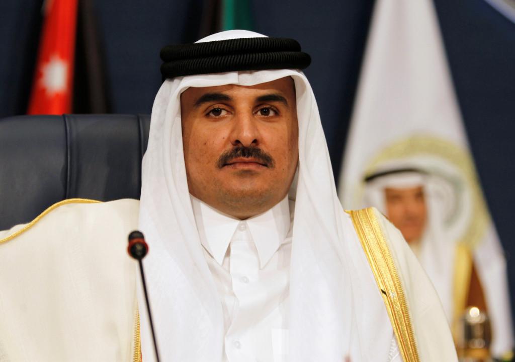 Kataro emyras šeichas Tamimas bin Hamadas Al Thani. Scanpix nuotr.