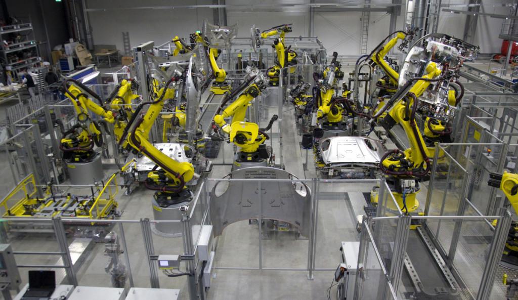 Sparti robotizacija padės Vakarų Europai kiek sumažinti trūkstamos darbo jėgos poreikį .  Scanpix nuotr.