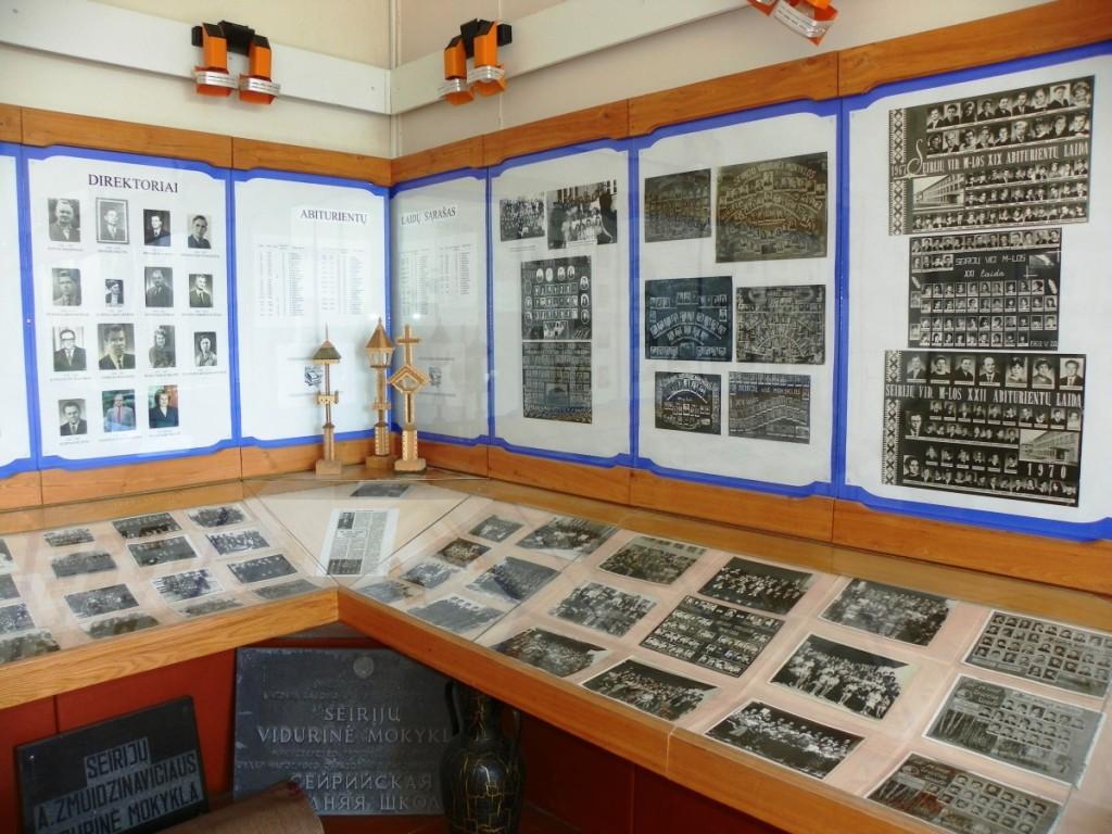 Mokyklos muziejai – puiki erdvė edukacijai. Seirijų bendruomenės nuotr.