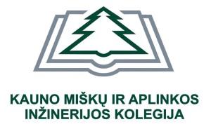 Kolegijos logo su spalva