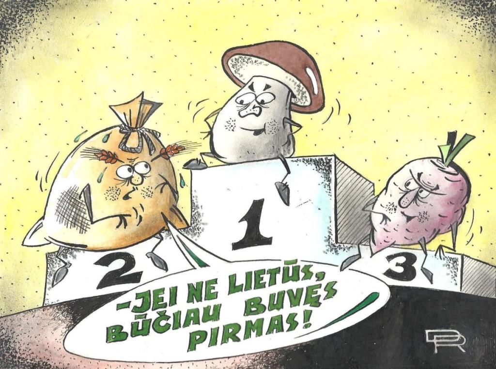 R. Dovydėno pieš.