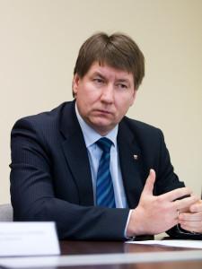 Akmenės rajono meras Vitalijus Mitrofanovas