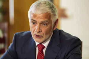 Žemės ūkio ministras Bronius Markauskas