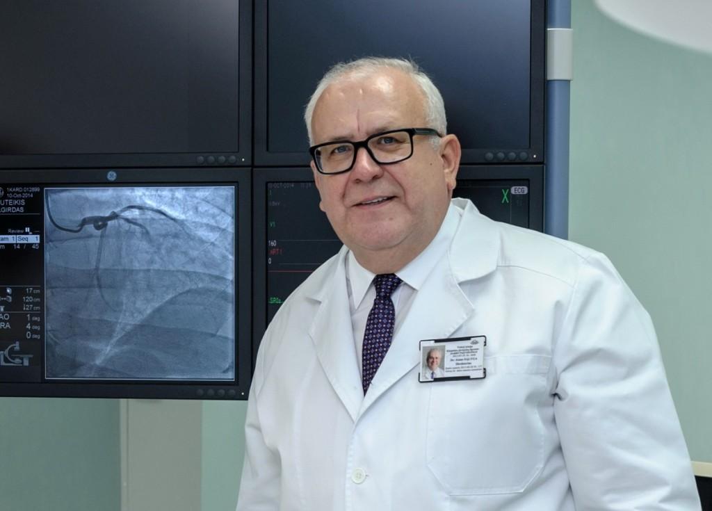 Klaipėdos jūrininkų ligoninės direktorius J.Sąlyga