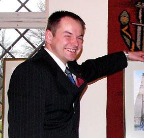 Pačeriaukštės seniūnas Aurimas Frankas