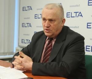 Lietuvos pieno gamintojų asociacijos tarybos pirmininkas Jonas Vilionis. ELTA nuotr.