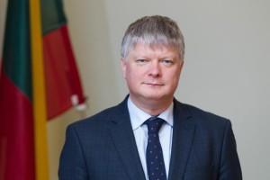 Aplinkos ministras K. Navickas