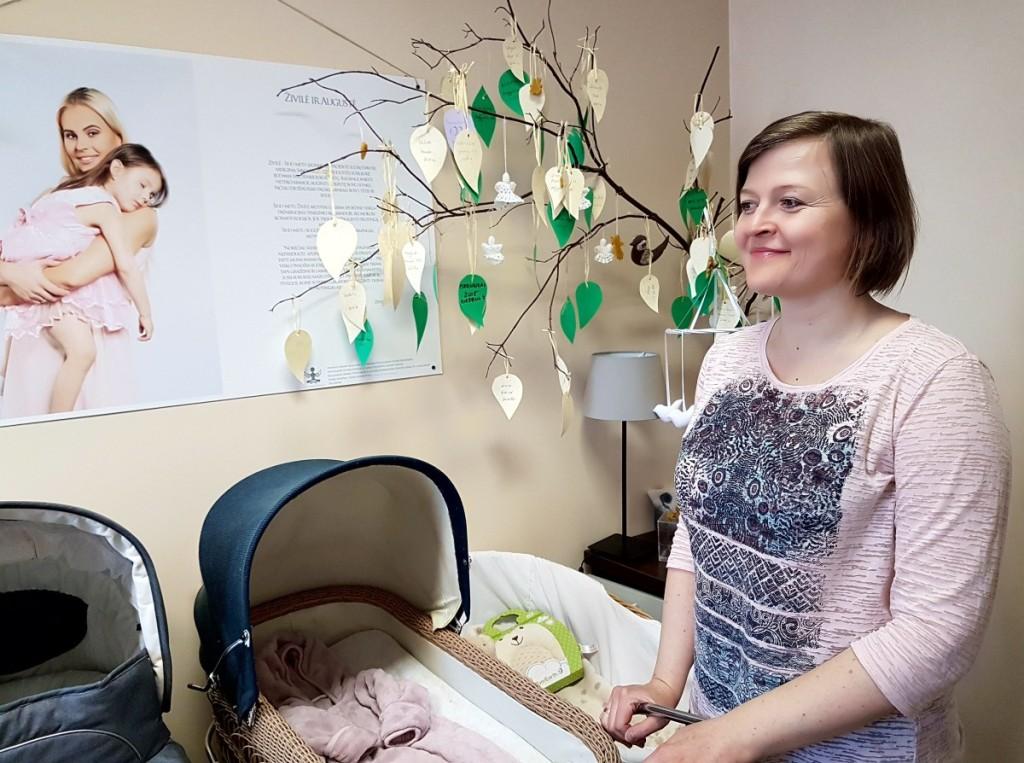 Krizinio nėštumo centro vadovė Z.Tomilinienė augina tris vaikus.