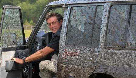 """V. Marozas: """"Jeigu nesate tikras, ar įveiksite prieš akis esantį klampų ruožą, nepatingėkite, išlipkite iš mašinos ir paėjėkite pėsčias."""""""