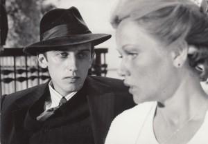 """V.Masalskis ir N.Oželytė B.Talačkos filme """"Raudonmedžio rojus"""" .  Asmeninio archyvo nuotr."""