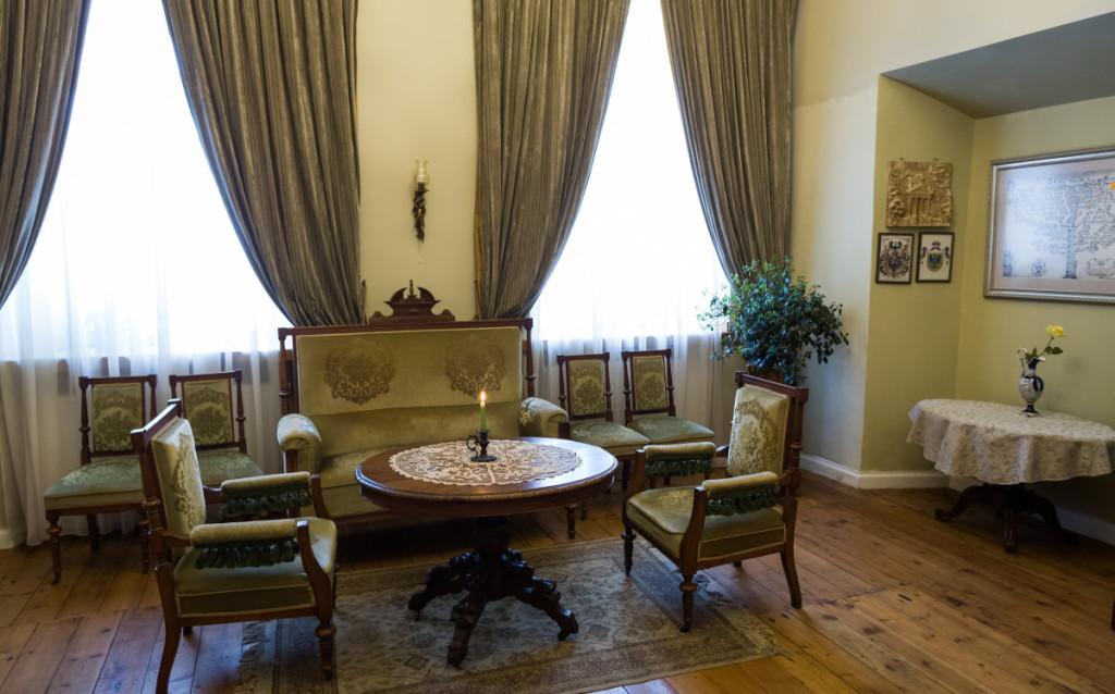 Taujėnų dvaro interjeras buvo kuriamas iš naujo. M. Ambrazo nuotr.