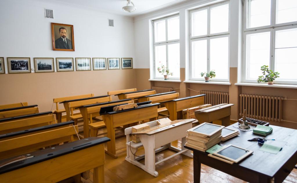 Dabar Užugirio mokykla tapo Ukmergės kraštotyros muziejumi. M. Ambrazo nuotr.