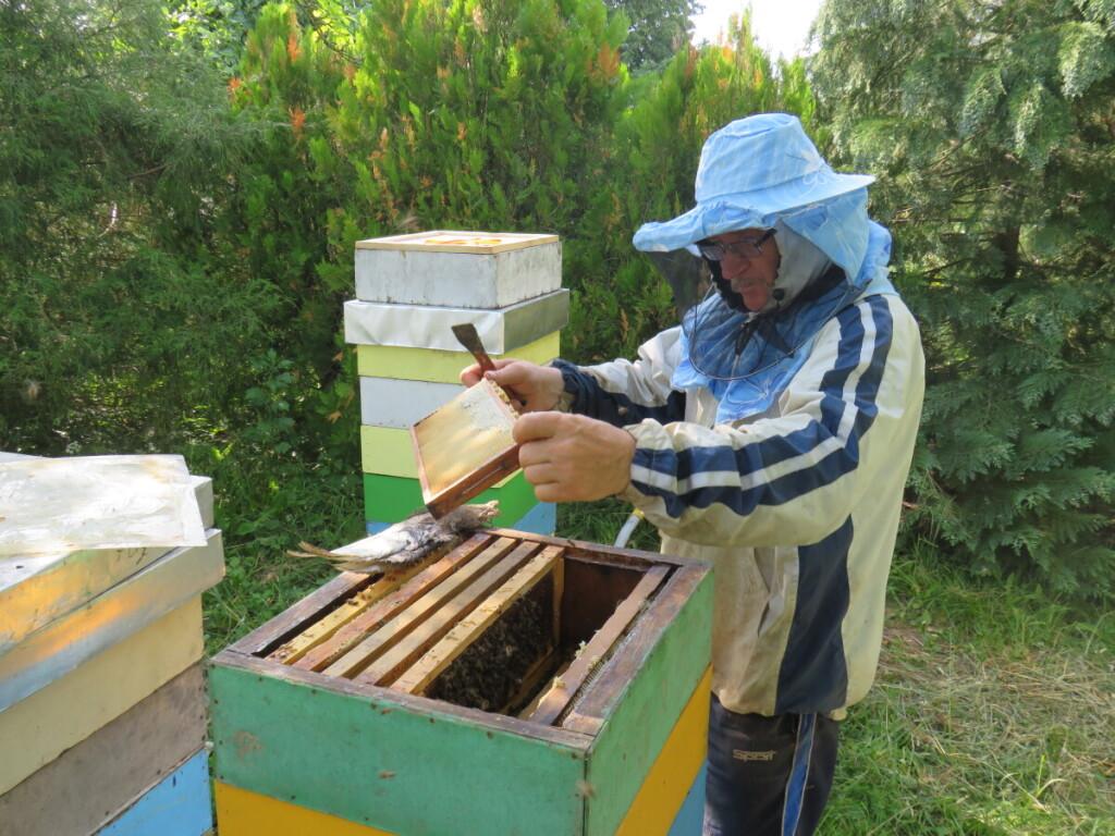 J.Strokas bites laikyti pradėjo 1989 metais. Asmeninio archyvo nuotr.