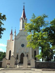 Musninkų Švč. Trejybės bažnyčią pastatė Musninkų (Musninkėlių) dvaro dvarininkas M.Podberskis su parapijiečiais.