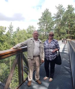 Regina ir Algirdas Šimėnai mėgsta keliauti ir po Lietuvą ir po svečias šalis.