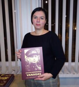 Pristatyme dalyvavo ir Vanago anūkė, A.Skokauskienės dukra, karo gydytoja Inga Skokauskaitė-Jancevičienė.