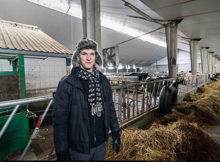 Nuotrauka iš Punsko krašto ūkininko Vytauto Šliaužio ir jo sūnaus Raimundo ūkio.