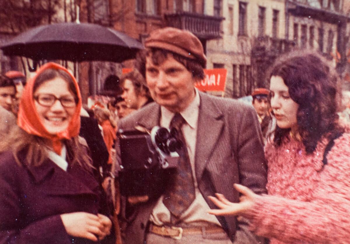 Nuo jaunystės buvęs partizanas nesiskyrė su kino kamera