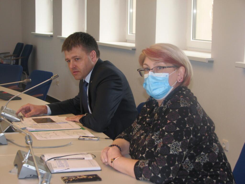 S. Mocevičius teigė, kad V. Aleknavičienės darbas 2019 metais buvo įvertintas nepatenkinamai
