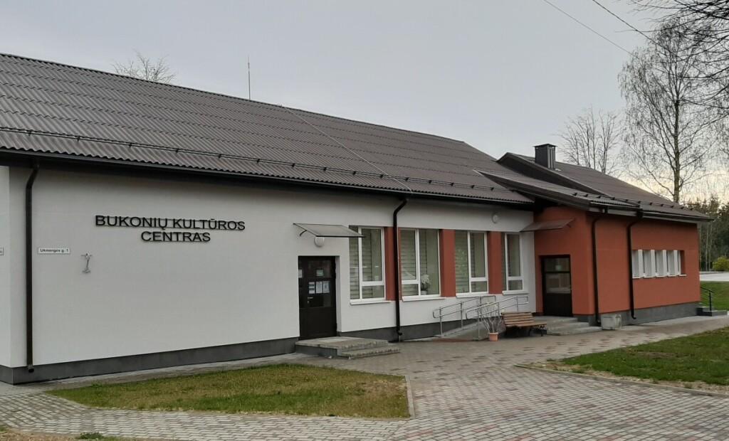 2019 m. Bukonyse naujomis spalvomis sušvito kultūros centras.