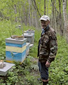 lgirdas sakė, kad iki šių metų pagrindinis miško bityno priešas buvo kiaunės.