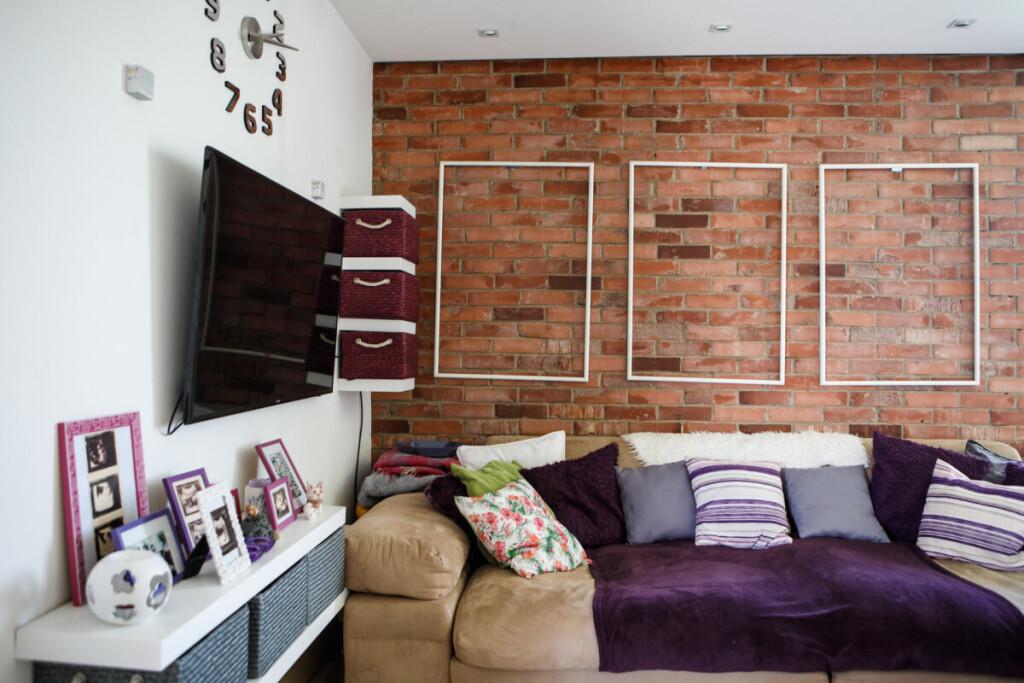 Namuose architektė labai norėjo raudonų plytų sienos.