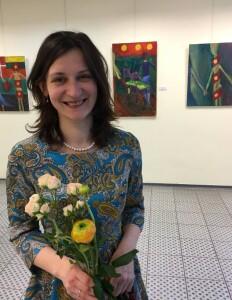 Jaunajai dailininkei A.Bugailiškytei svarbu kalbėti realistiškai, kelti nuotaiką, dalintis džiaugsmu.
